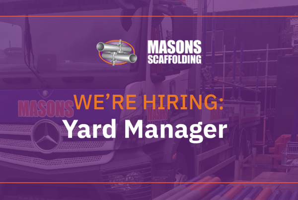 Masons is hiring: Yard Manager