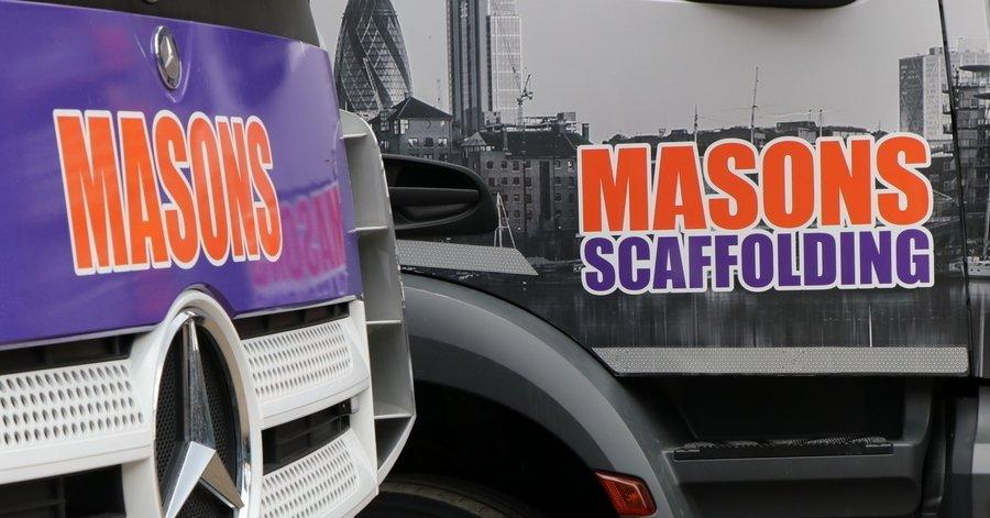 Masons Scaffolding unveils brand new Euro 6 compliant fleet